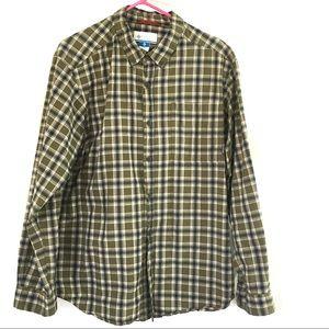 Columbia Long Sleeve Large plaid Shirt